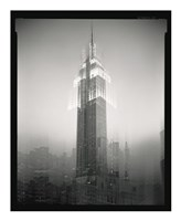 Empire State Building Motion Landscape #2 Fine Art Print