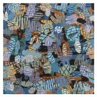 Blue In Manhattan Fine Art Print