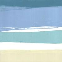 """Beach I by Cathe Hendrick - 12"""" x 12"""""""