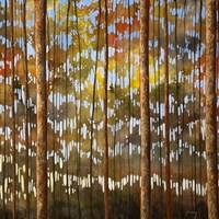 Tarnished Wood Fine Art Print