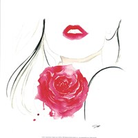 Rouge in Love Fine Art Print