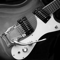 Classic Guitar Detail V Framed Print