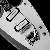 Classic Guitar Detail VI Fine Art Print