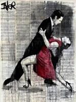 Midnight Tango Fine Art Print