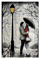 "Lamp by Loui Jover - 13"" x 19"""
