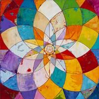 """Kaleidoscopic by James Wyper - 12"""" x 12"""""""