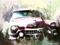 1955 Cadillac in Harmony Fine Art Print