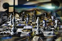 Chess Abstract Fine Art Print