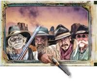 Four Hombres Fine Art Print