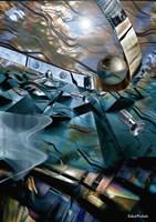 Metallic Geometry Fine Art Print