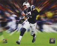 "Rob Gronkowski Motion Blast - 10"" x 8"", FulcrumGallery.com brand"