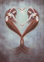 Heart Dance Fine Art Print
