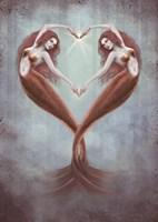 Heart Dance Fine Art Print