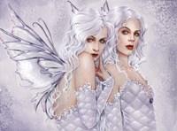 Silver Sisters Fine Art Print
