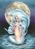 Moon Mermaid Fine Art Print