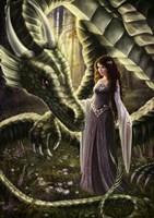 To Meet a Dragon Fine Art Print