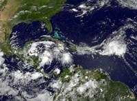 Hurricane Alex Develops in the Western Caribbean - various sizes