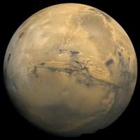 Global Mosaic of Mars Fine Art Print