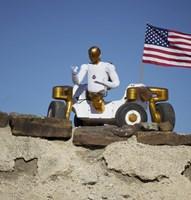 Robonaut 2 Poses Atop its New Wheeled base, Centaur 2 - various sizes - $30.99