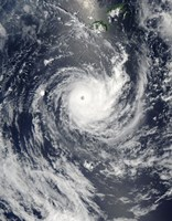 Tropical Cyclone Wilma - various sizes