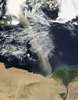 A Dust Plume Stretches Across the Mediterranean Sea - various sizes