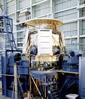 The Apollo Telescope Mount Undergoing Horizontal Vibration Testing - various sizes