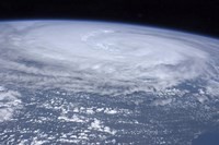 View from space of Hurricane Irene off the East Coast of the United States - various sizes