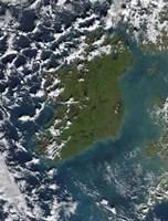 Phytoplankton Bloom off the Coast of Ireland - various sizes