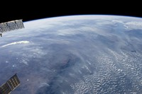 A Smoke Pall Dominates this view of Tropical Southern Africa - various sizes