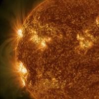 Sun Showing Solar Activity - various sizes
