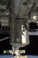 The Permanent Multipurpose Module attached to the International Space Station - various sizes