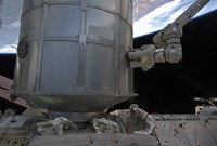 The Permanent Multipurpose Module  in space Shuttle Discovery's Payload Bay - various sizes