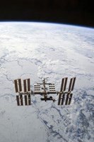 The International Space Station in Orbit - various sizes