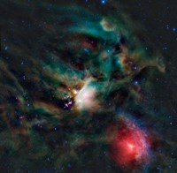 The Rho Ophiuchi Cloud Complex - various sizes