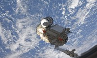 The Mini Research Module 1 Segment of the International Space Station - various sizes