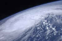 View from Space of Hurricane Irene as it Passes over the Caribbean - various sizes