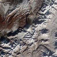 Satellite Image of Russia's Kizimen Volcano - various sizes - $47.49