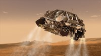 The Rover and Descent Stage for NASA's Mars Science Laboratory Spacecraft - various sizes, FulcrumGallery.com brand