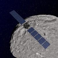 NASA's Dawn Spacecraft Orbiting the Giant Asteroid Vesta - various sizes, FulcrumGallery.com brand