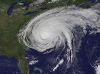 Satellite View of Hurricane Irene