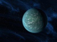 Artist's Concept of Kepler 22b, an Extrasolar Planet Found to Orbit the Habitable Zone - various sizes - $47.49