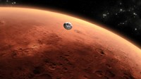 Artist's concept of NASA's Mars Science Laboratory Spacecraft approaching Mars - various sizes - $47.49