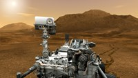 Artist concept of NASA's Curiosity rover - various sizes, FulcrumGallery.com brand