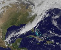 A strong Cold front Moving through the Eastern United States - various sizes