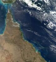 Satellite view of the Australian Coast - various sizes