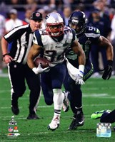 Shane Vereen Super Bowl XLIX Action Fine Art Print