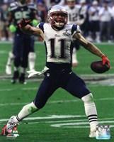 Julian Edelman Super Bowl XLIX Action Fine Art Print