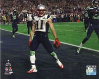 Julian Edelman Touchdown Super Bowl XLIX Fine Art Print