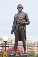 British Columbia, Victoria, Captain James Cook Statue by Rob Tilley - various sizes