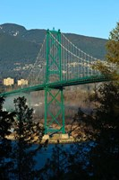 British Columbia, Vancouver, Lion's Gate Bridge by Rick A Brown - various sizes